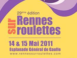 Affiche de Rennes sur Roulettes