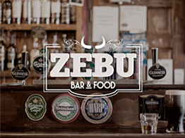 Zebu logo bar restaurant