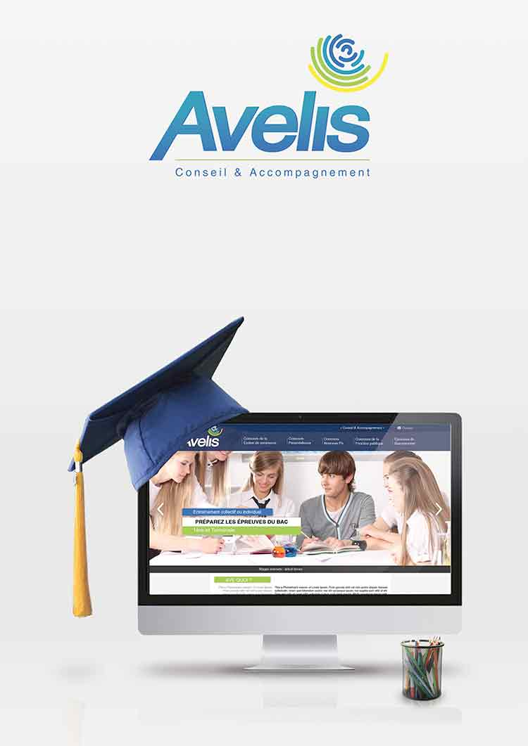 Site web Avelis Conseil