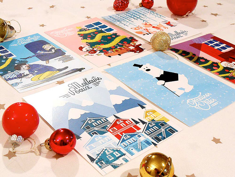 Chloé Allard - Cartes de noël 2015
