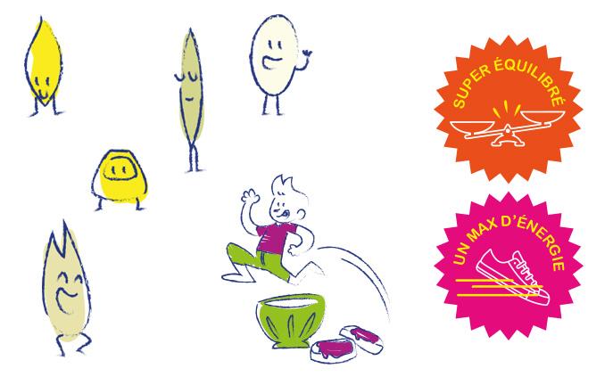 Chloe Allard - Passion céréales - Campagne d'animations